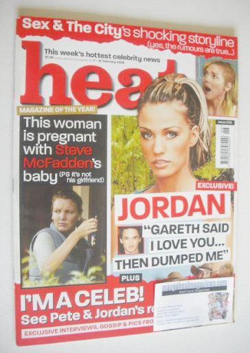 <!--2004-02-07-->Heat magazine - Jordan cover (7-13 February 2004 - Issue 2