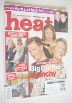 Heat magazine - Big Brother cover (9-15 June 2001 - Issue 120)