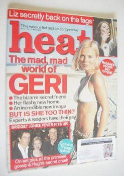 Heat magazine - Geri Halliwell cover (14-20 April 2001 - Issue 112)