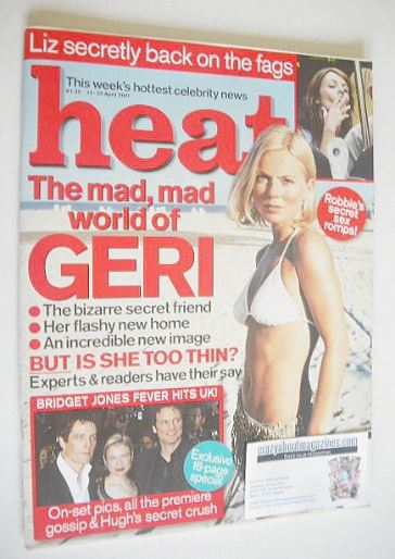 <!--2001-04-14-->Heat magazine - Geri Halliwell cover (14-20 April 2001 - I