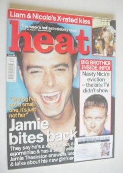 Heat magazine - Jamie Theakston cover (26 August - 1 September 2000 - Issue 80)