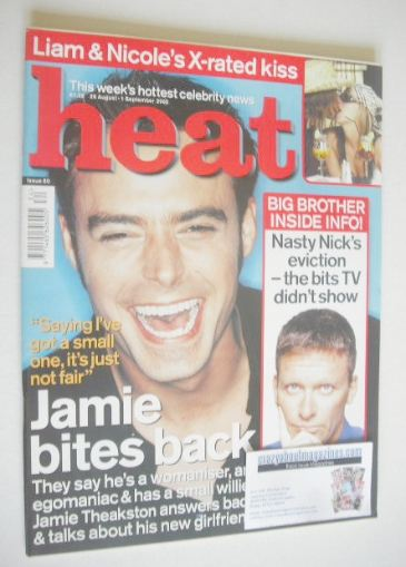 <!--2000-08-26-->Heat magazine - Jamie Theakston cover (26 August - 1 Septe