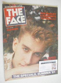 The Face magazine - Terry Hall cover (July 1981 - Issue 15)