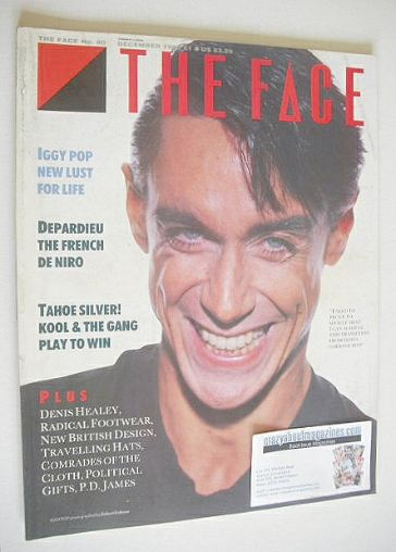 <!--1986-12-->The Face magazine - Iggy Pop cover (December 1986 - Issue 80)
