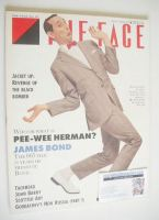 <!--1987-07-->The Face magazine - Pee-Wee Herman cover (July 1987 - Issue 87)
