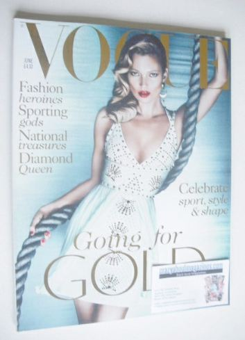 <!--2012-06-->British Vogue magazine - June 2012 - Kate Moss cover
