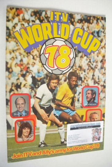 ITV WOrld Cup 1978 magazine