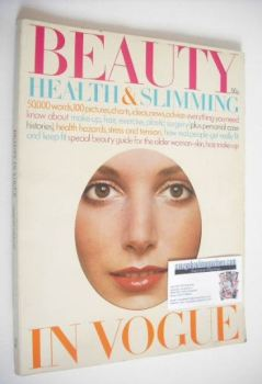 Beauty Health & Slimming In Vogue magazine (1971/72)
