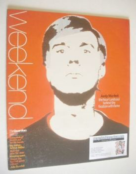 The Guardian Weekend magazine - 19 January 2002 - Andy Warhol cover