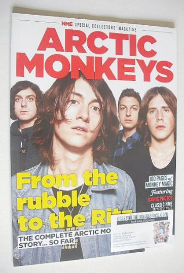 <!--2013-08-->NME Special Collector's Edition magazine - Arctic Monkeys cov