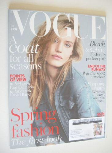 <!--2014-02-->British Vogue magazine - February 2014 - Georgia May Jagger c
