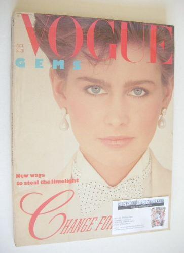 <!--1982-10-->British Vogue magazine - October 1982 (Vintage Issue)