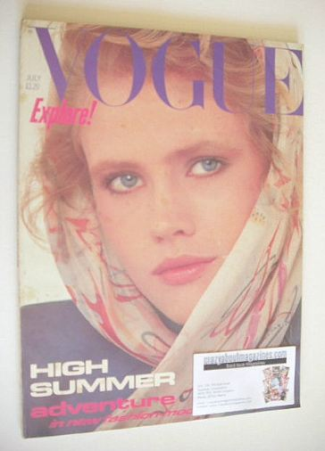 <!--1982-07-->British Vogue magazine - July 1982 (Vintage Issue)