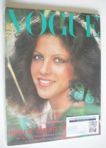 <!--1975-04-15-->British Vogue magazine - 15 April 1975