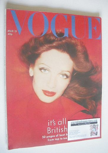 <!--1975-03-15-->British Vogue magazine - 15 March 1975 - Ingmari Lami cove