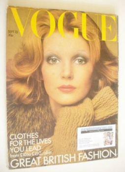 British Vogue - 15 September 1972