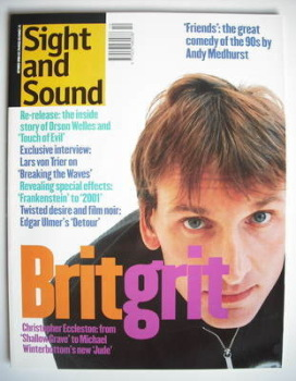 Sight and Sound magazine - Christopher Eccleston cover (October 1996)