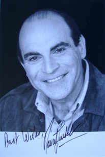 David Suchet autograph (hand-signed photograph)