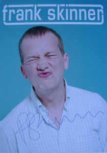 Frank Skinner autograph (hand-signed photograph)