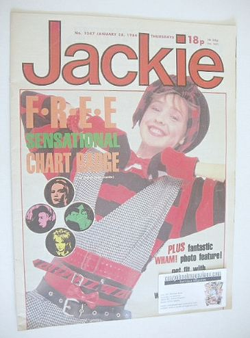 <!--1984-01-28-->Jackie magazine - 28 January 1984 (Issue 1047)
