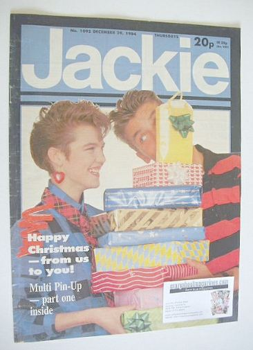 <!--1984-12-29-->Jackie magazine - 29 December 1984 (Issue 1095)