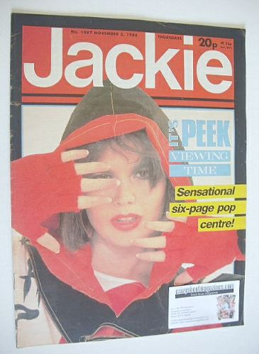 <!--1984-11-03-->Jackie magazine - 3 November 1984 (Issue 1087)