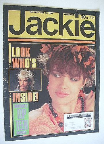 <!--1984-06-16-->Jackie magazine - 16 June 1984 (Issue 1067)
