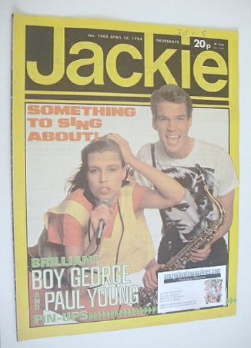 <!--1984-04-28-->Jackie magazine - 28 April 1984 (Issue 1060)