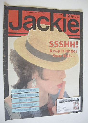 <!--1984-04-21-->Jackie magazine - 21 April 1984 (Issue 1059)
