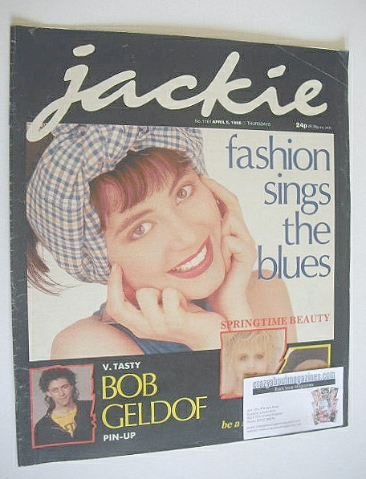 <!--1986-04-05-->Jackie magazine - 5 April 1986 (Issue 1161)