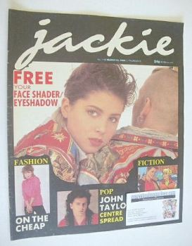 Jackie magazine - 15 March 1986 (Issue 1158)