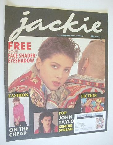 <!--1986-03-15-->Jackie magazine - 15 March 1986 (Issue 1158)