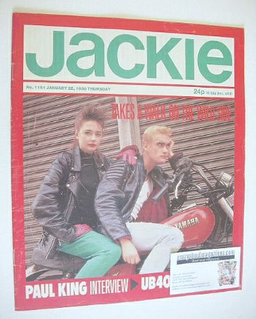 <!--1986-01-25-->Jackie magazine - 25 January 1986 (Issue 1151)