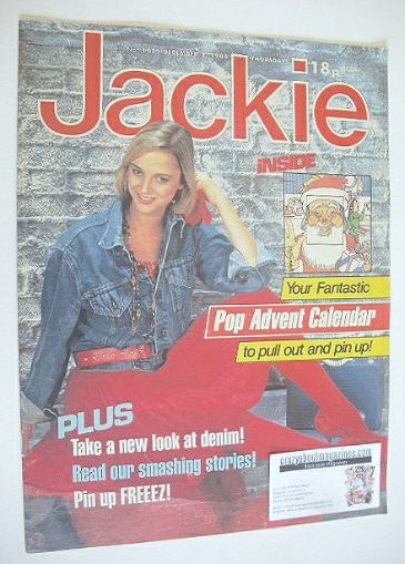 <!--1983-12-03-->Jackie magazine - 3 December 1983 (Issue 1039)