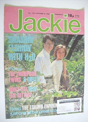 <!--1983-10-08-->Jackie magazine - 8 October 1983 (Issue 1031)