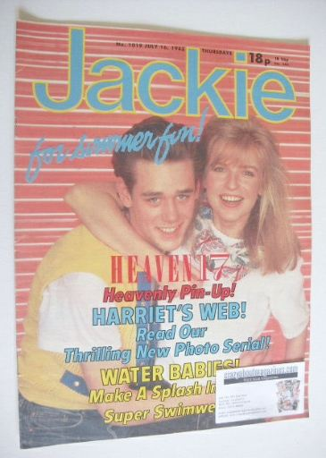 <!--1983-07-16-->Jackie magazine - 16 July 1983 (Issue 1019)