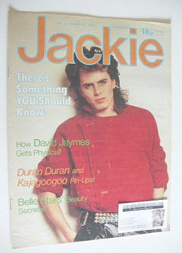 <!--1983-05-21-->Jackie magazine - 21 May 1983 (Issue 1011 - John Taylor co