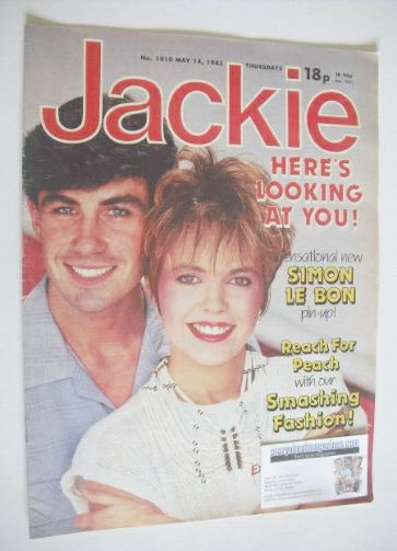 <!--1983-05-14-->Jackie magazine - 14 May 1983 (Issue 1010)