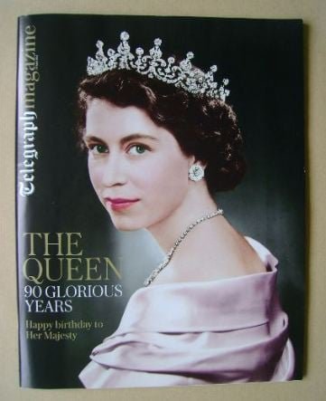 <!--2016-04-16-->Telegraph magazine - The Queen cover (16 April 2016)