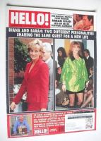 <!--1996-10-19-->Hello! magazine - Princess Diana and The Duchess of York cover (19 October 1996 - Issue 429)