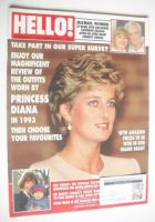 <!--1993-12-04-->Hello! magazine - Princess Diana cover (4 December 1993 - Issue 282)
