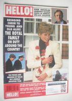 <!--1991-02-23-->Hello! magazine - Princess Diana cover (23 February 1991 - Issue 141)