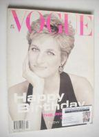 <!--1994-07-->British Vogue magazine - July 1994 - Princess Diana cover