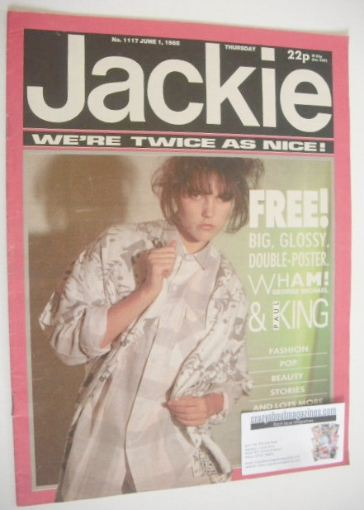 <!--1985-06-01-->Jackie magazine - 1 June 1985 (Issue 1117)