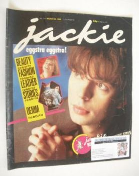 Jackie magazine - 29 March 1986 (Issue 1160 - Ian McCulloch cover)