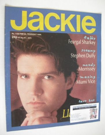 <!--1986-02-22-->Jackie magazine - 22 February 1986 (Issue 1155 - Lloyd Col