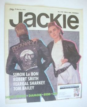 Jackie magazine - 8 February 1986 (Issue 1153)