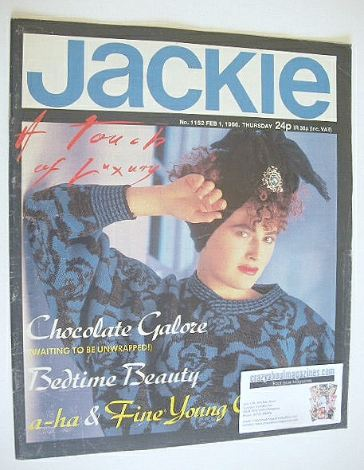 <!--1986-02-01-->Jackie magazine - 1 February 1986 (Issue 1152)