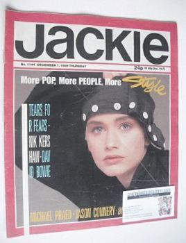 Jackie magazine - 7 December 1985 (Issue 1144)