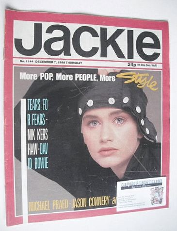 <!--1985-12-07-->Jackie magazine - 7 December 1985 (Issue 1144)